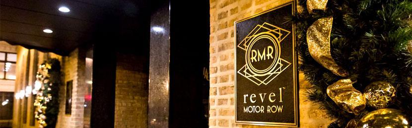 Kick off party at revel motor row